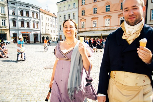 A dream of a sentimentalist: Empire day in Olomouc
