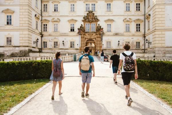 Пешком по Моравии: из Леднице в Валтице