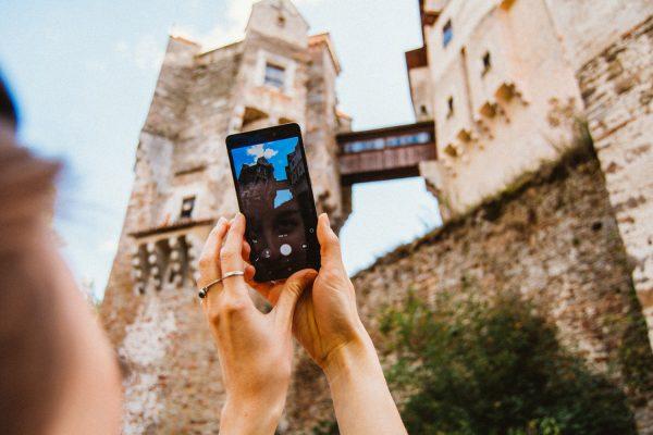 Пешком по Моравии: средневековый замок Пернштейн